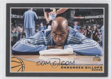 2009-10 Topps - [Base] - Black #63 - Chauncey Billups /50