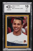 Stephen Curry [BCCG Mint] #/2,009