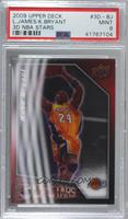 LeBron James, Kobe Bryant [PSA 9 MINT]