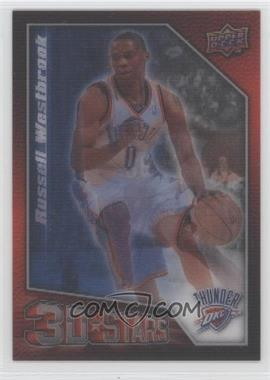 2009-10 Upper Deck - 3D Stars #3D-DW - Kevin Durant, Russell Westbrook
