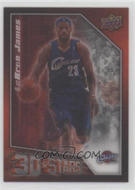 2009-10 Upper Deck - 3D Stars #3D-JW - Lebron James, Mo Williams