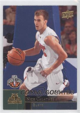 2009-10 Upper Deck - [Base] - Rookies Gold #221 - Nick Calathes
