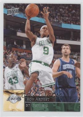 2009-10 Upper Deck - [Base] - Wrong Name on Front #10 - Rajon Rondo