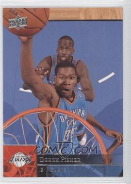 2009-10 Upper Deck - [Base] - Wrong Name on Front #135 - Kevin Durant (Derek Fisher Name on Front)