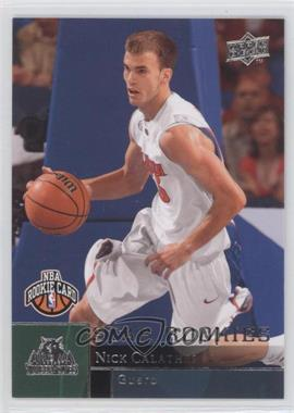 2009-10 Upper Deck - [Base] #221 - Nick Calathes