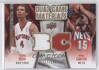 Chris Bosh, Vince Carter /150