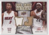 LeBron James, Dwyane Wade /150