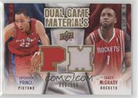 Tracy McGrady, Tayshaun Prince /150
