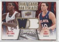 Mike Bibby, Marvin Williams #/150