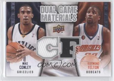 2009-10 Upper Deck - Dual Game Materials #DG-FC - Raymond Felton, Mike Conley