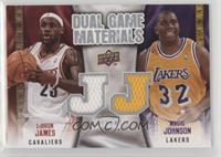 Magic Johnson, LeBron James