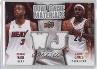 LeBron James, Dwyane Wade