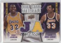 Magic Johnson, Kareem Abdul-Jabbar