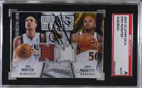 Corey Maggette, Dirk Nowitzki [SGC Authentic Authentic]