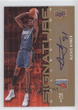 2009-10 Upper Deck - Signature Collection - [Autographed] #1 - Alexis Ajinca