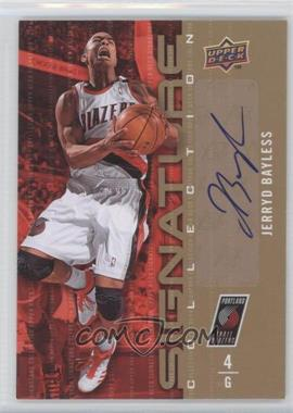 2009-10 Upper Deck - Signature Collection - [Autographed] #10 - Jerryd Bayless