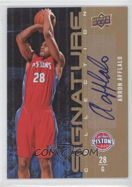 2009-10 Upper Deck - Signature Collection - [Autographed] #102 - Arron Afflalo
