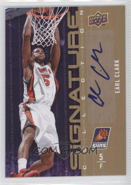 2009-10 Upper Deck - Signature Collection - [Autographed] #118 - Earl Clark