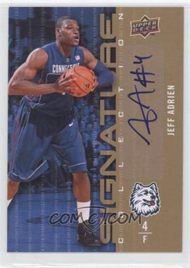 2009-10 Upper Deck - Signature Collection - [Autographed] #122 - Jeff Adrien