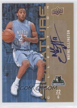 2009-10 Upper Deck - Signature Collection - [Autographed] #127 - Wayne Ellington