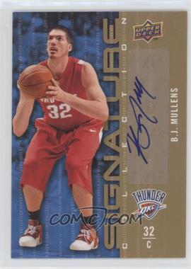 2009-10 Upper Deck - Signature Collection - [Autographed] #128 - B.J. Mullens