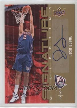 2009-10 Upper Deck - Signature Collection - [Autographed] #15 - Josh Boone