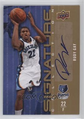 2009-10 Upper Deck - Signature Collection - [Autographed] #180 - Rudy Gay