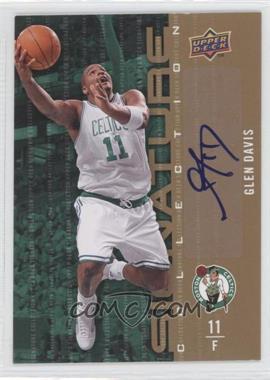 2009-10 Upper Deck - Signature Collection - [Autographed] #53 - Glen Davis