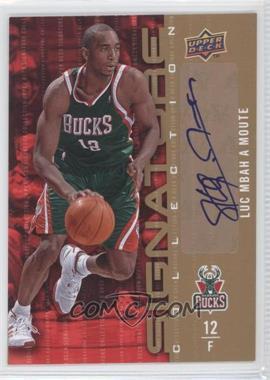 2009-10 Upper Deck - Signature Collection - [Autographed] #62 - Luc Mbah a Moute