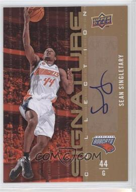 2009-10 Upper Deck - Signature Collection - [Autographed] #82 - Sean Singletary