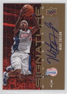 2009-10 Upper Deck - Signature Collection - [Autographed] #88 - Mike Taylor
