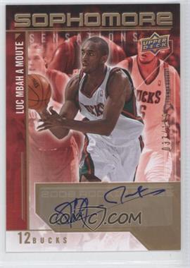 2009-10 Upper Deck - Sophomore Sensations - Autographs [Autographed] #SS-LM - Luc Mbah a Moute /199