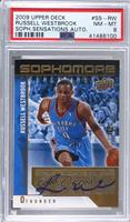 Russell Westbrook [PSA8NM‑MT] #/199