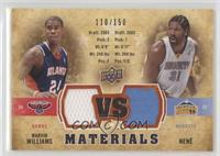 Marvin Williams, Nene [Noted] #/150