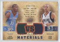 Kevin Durant, Jason Kidd #/150