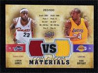 Kobe Bryant, LeBron James #283/600
