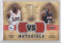 Marvin Williams, Thaddeus Young #/600