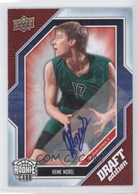 2009-10 Upper Deck Draft Edition - [Base] - Autograph Blue #38 - Henk Norel /999