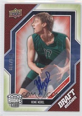 2009-10 Upper Deck Draft Edition - [Base] - Autograph Green #38 - Henk Norel /249