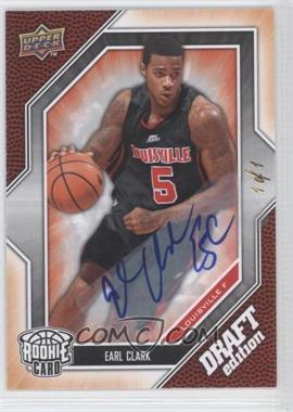 2009-10 Upper Deck Draft Edition - [Base] - Autograph Platinum #29 - Earl Clark /1