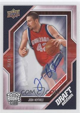 2009-10 Upper Deck Draft Edition - [Base] - Autograph Red #54 - Josh Heytvelt /25