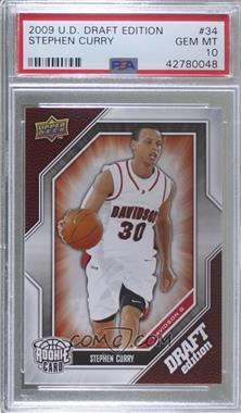 2009-10 Upper Deck Draft Edition - [Base] #34 - Stephen Curry [PSA10GEMMT]