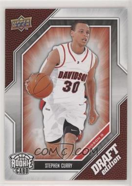 2009-10 Upper Deck Draft Edition - [Base] #34 - Stephen Curry