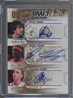 Ricky Rubio, Jonny Flynn, Stephen Curry /60