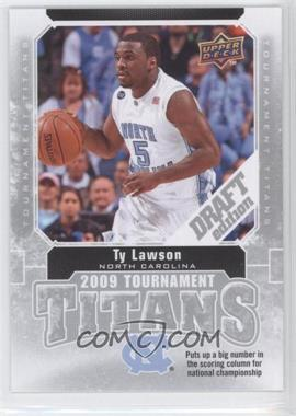 2009-10 Upper Deck Draft Edition - Tournament Titans #TT-TL - Ty Lawson