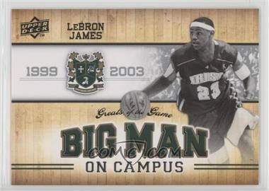 2009-10 Upper Deck Greats of the Game - [Base] #113 - Lebron James
