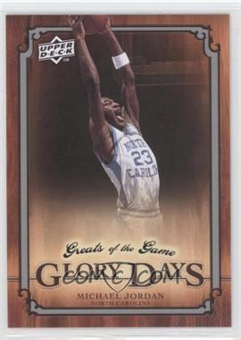 2009-10 Upper Deck Greats of the Game - [Base] #91 - Michael Jordan