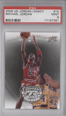 2009-10 Upper Deck Jordan Legacy - [Base] #15 - Michael Jordan [PSA9]