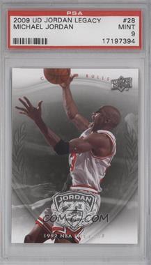 2009-10 Upper Deck Jordan Legacy - [Base] #28 - Michael Jordan [PSA9]
