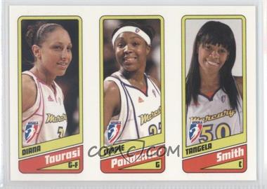 2009 Rittenhouse WNBA - [Base] #1-2-3 - Diana Taurasi, Cappie Pondexter, Tangela Smith /399